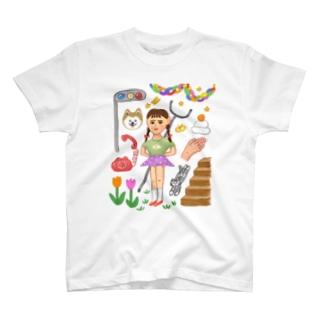 さすまた T-shirts