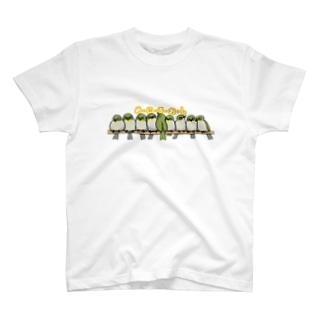 めじろおし(メジロ) T-Shirt