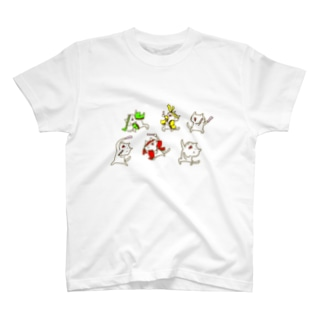 じろにゃんのオタ芸 T-shirts