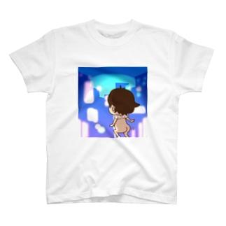 夜の街のらえもん T-shirts