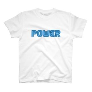 電力 T-shirts
