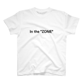 """In the """"ZONE"""" T-shirts"""