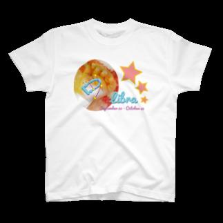 フォーヴァのLibra-てんびん座-ハッピーベイビーハンズ- T-shirts