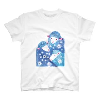 三匹のひつじ T-shirts