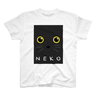 よききの黒猫さん T-Shirt