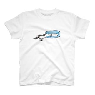 おひるねキャバトライ T-shirts