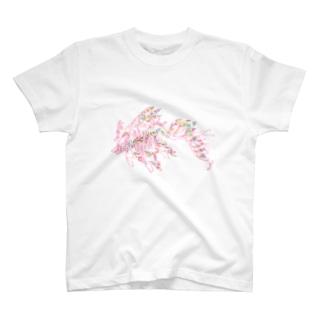 リーフィーシードラゴン T-shirts