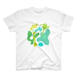Osanpo-Nekoのさわさわ。。 T-shirts
