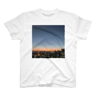 東京から富士山とISSも見えたよ! T-shirts