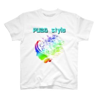 PUBG style(レインボー) T-shirts