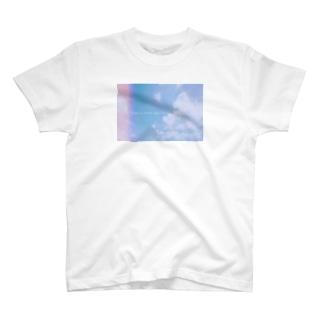 雲の向こうはいつも青空 T-shirts
