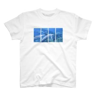 イルカのいる島 T-shirts