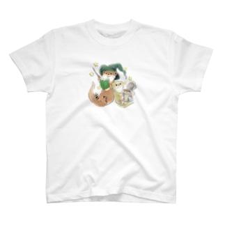 M&Bworksたかむらすずなのちびコツメカワウソの星屑製造機 T-shirts