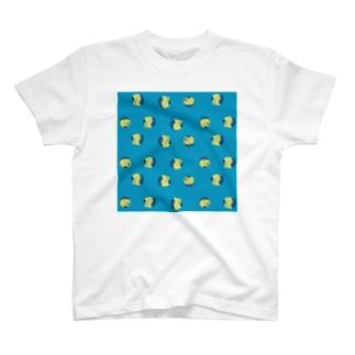 水玉じゃなくて猫玉 T-shirts