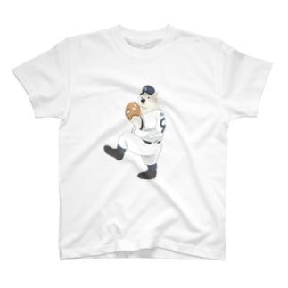 ピッチャーしろくま T-shirts