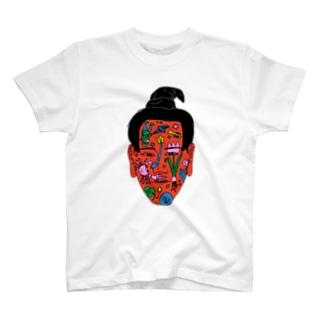 KAO(文字なし) T-shirts