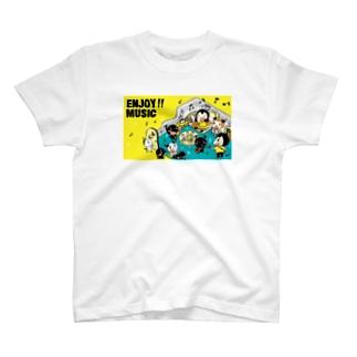 ENJOY MUSIC T-shirts