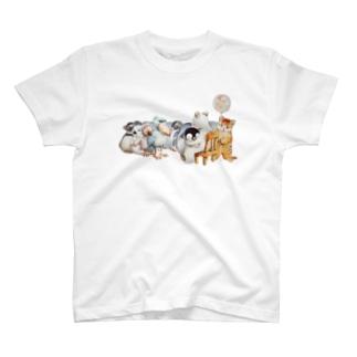 まなつ&まふゆのフリーハグ T-shirts