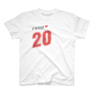 IN LOVE FROM【ペアルック右 - 20】 T-Shirt