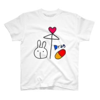 相合傘 T-shirts