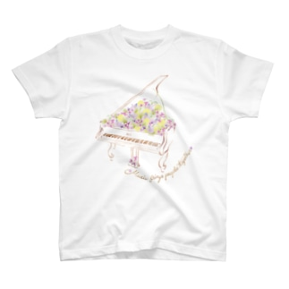 花ピアノ T-shirts