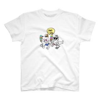 チャリティ ハッピーライフ T-shirts