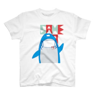 MASK_SAME_with Ink T-shirts