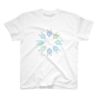 せんたくばさみサークル T-shirts
