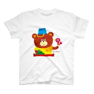 ◎◎animal くまくま T-shirts