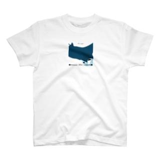 200cm -マンタ- T-shirts