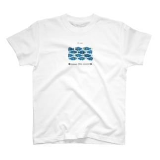 200cm -イラブチャー- T-shirts