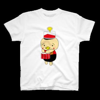 高田万十のオンパ ドラム T-shirts