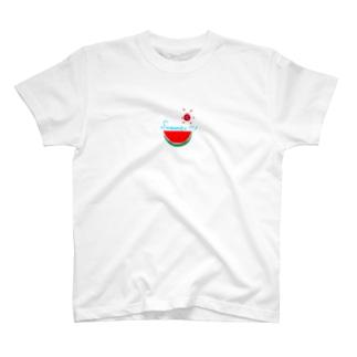 スイカサマー T-shirts