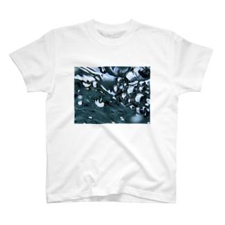 Akroworksの徳島の青【穴吹水中】 T-shirts