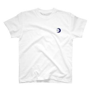 三日月釣具店Tシャツ T-shirts
