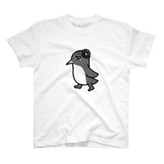 クール×シュール×ペンギン シンプルver T-shirts