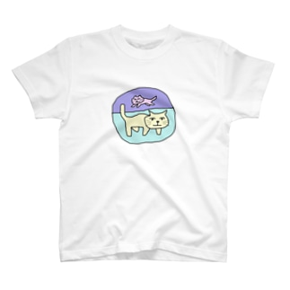 猫2。 T-shirts
