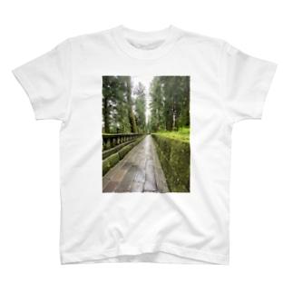さんぽ道 T-shirts