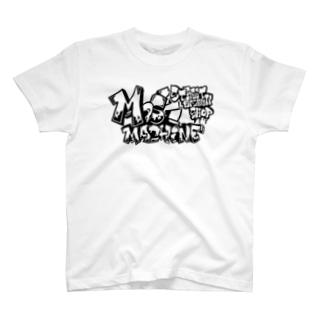 MOSHMACHINE ショップTee(ブラックプリント) T-shirts