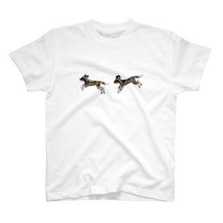 なかよしリカオン T-shirts