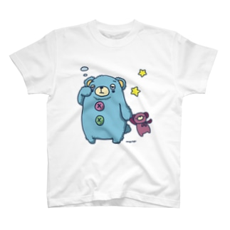 くまのあるくま T-shirts