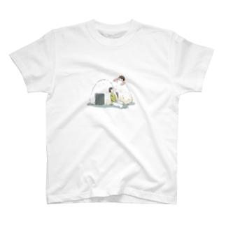 ふたごとおにぎり T-shirts