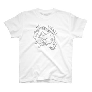 もぐもぐバジェットガエル(シンプルver.) T-shirts