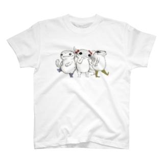 Amphibian MIKAERU T-shirts