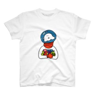 うちゅうのおばけ T-shirts