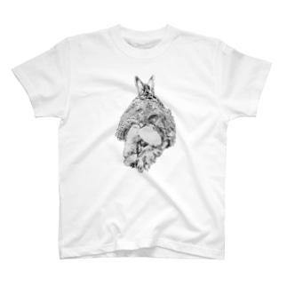 エビフライ(ぷち) T-shirts