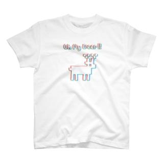 シカT4色 T-shirts