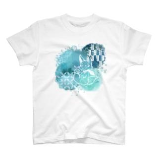 夏な狐 T-shirts
