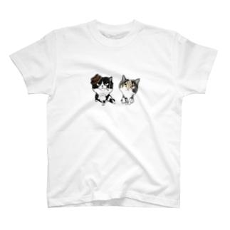 まめ ゆず T-shirts