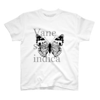 Vanessa indica T-shirts